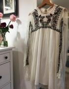 Sukienka w stylu boho ZARA rozmiar L...