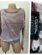 Bluza damska 40 42 liliowa...