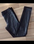 Spodnie legginsy z ekoskóry rozm M...
