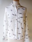 Koszula Biała Panda NOWA Bershka S 36 Elegancka...