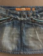 Spódniczka mini jeansowa...