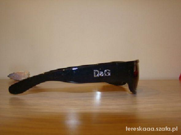 Okulary D&G okulary przeciwsłoneczne
