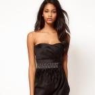 Czarna sukienka Lipsy London