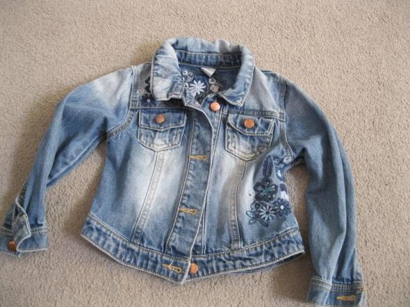 Kurtki kurtka katana jeans TU 92 98 przecierana