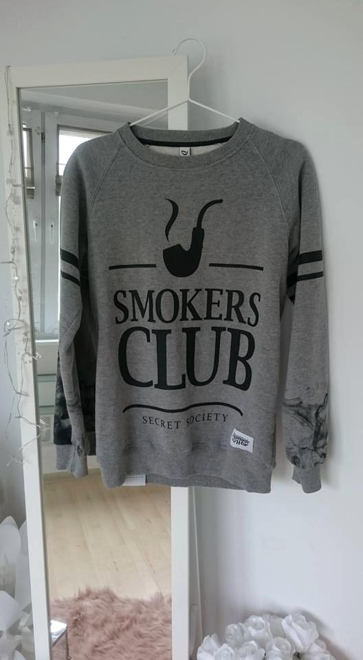 Bluzy Bluza Diamante Wear Smokers Club