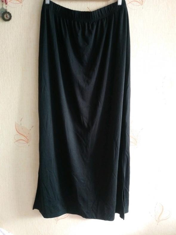 Spódnice Spódnica maxi kik czarna