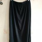 Spódnica maxi kik czarna