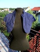 Granatowe bolerko jeansowe Orsay kieszenie eleganckie...