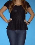 czarna koszulka baskinka ML...