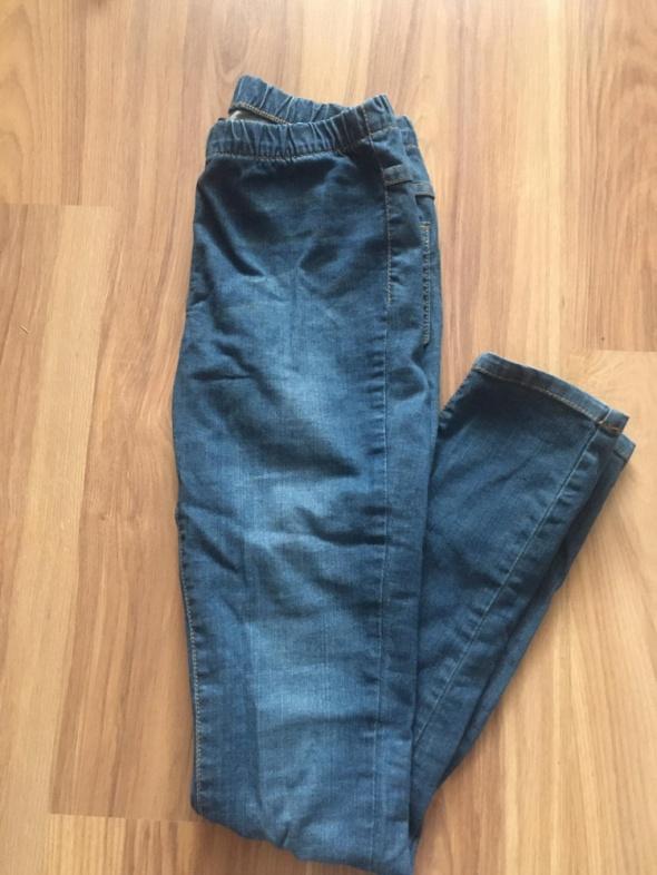 Tregginsy jeansowe S