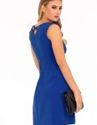 sukienka dekolt plecy chaber czarna CHABER S M L XL...