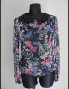 Lekka koszula w typie mgiełki w piękne kwiatowe wzory 42 XL...