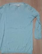 Niebieski sweter Cropp