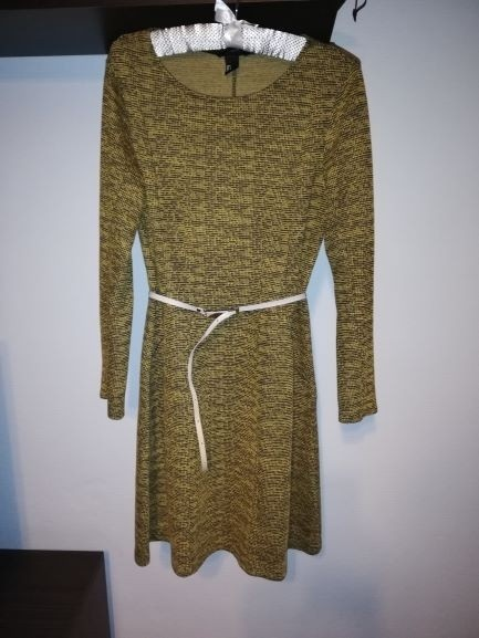 Suknie i sukienki Sukienka dzianinowa H&M