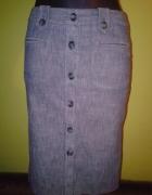Jeansowa rozpinana spódniczka Next...
