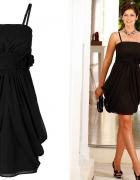 sukienka czarna mini kolekcja bonprix