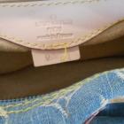 Louis Vuitton Denim Speedy Canvas bag torebka torba
