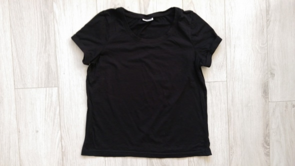 T shirt czarny basic S