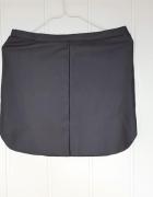 Czarna spódnica mini L 40 skóra skórka skaj eko imitacja miniów...