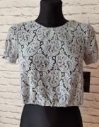 Koronkowa bluzka Zara XS...
