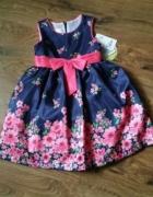 Nowa sukienka kolorowa 98...
