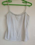 Top koszulka na szelkach do spania dżety używana uszkodzona bia...