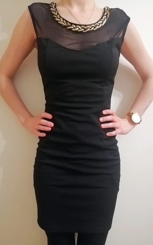 Sukienka wieczorowa mała czarna sylwester karnawał