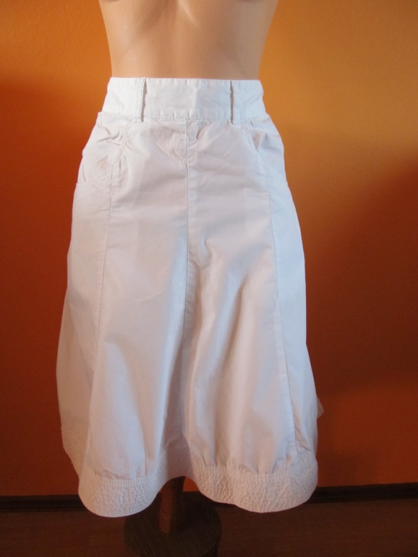 Spódnice H&M biała spódnica