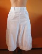 H&M biała spódnica...