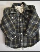 GAP bardzo ciepła koszula wełniana sweter 92 i 98...