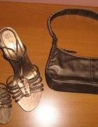 Buty sandały złote NEW LOOK roz 37...