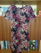 Sukienka Atmosphere kwiaty print zip...