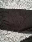 czarne spodnie biker 38 M