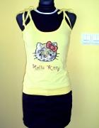 Nowa żółta bluzka Hello Kitty...