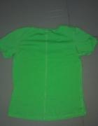Koszulka zielona ze złotym znaczkiem Nike S...
