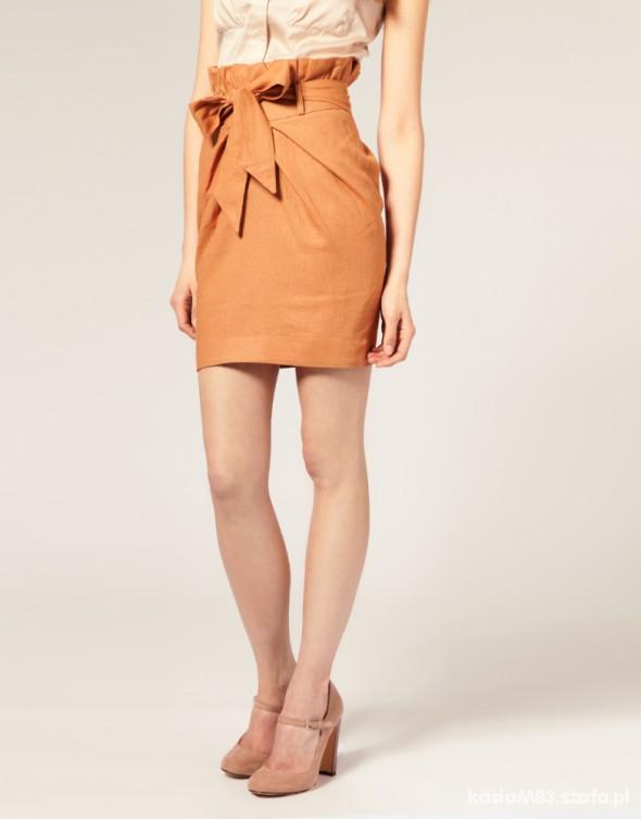 Spódnice ASOS spódniczka z kokardą POLECAM