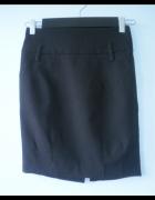 Reserved czarna ołówkowa spódniczka elegancka...
