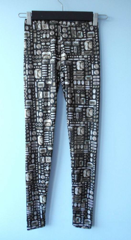 Tally Weijl nowe legginsy wzory kryształy crystals...