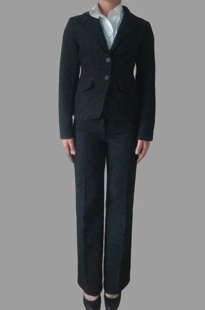 Komplet trzyczęściowy żakiet spodnie spódnica...