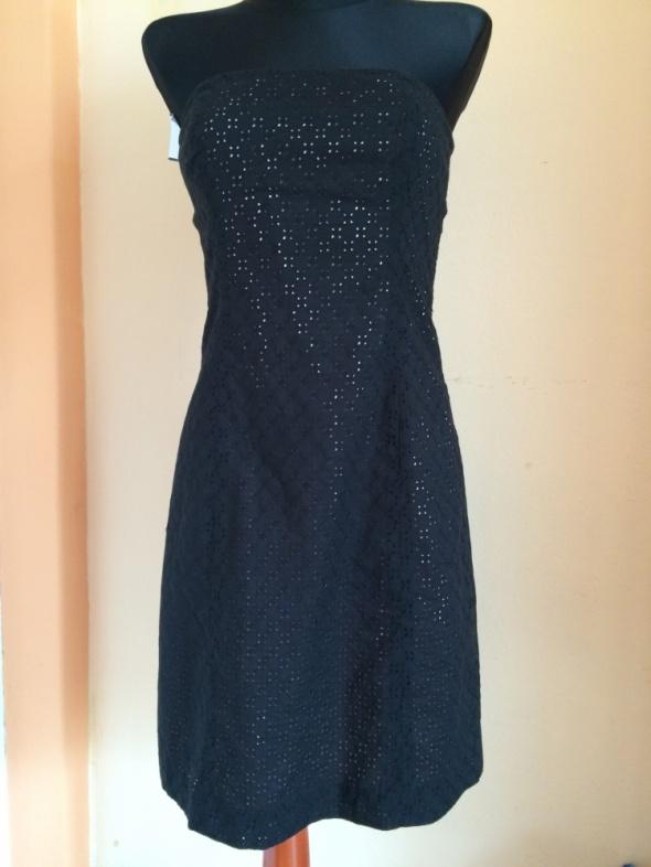 Suknie i sukienki Czarno różowa sukienka thoshanna