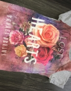 Promod koszulka róże 3D świetnyna...
