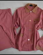Dwuczęściowa piżama 44 46 spodnie i koszula