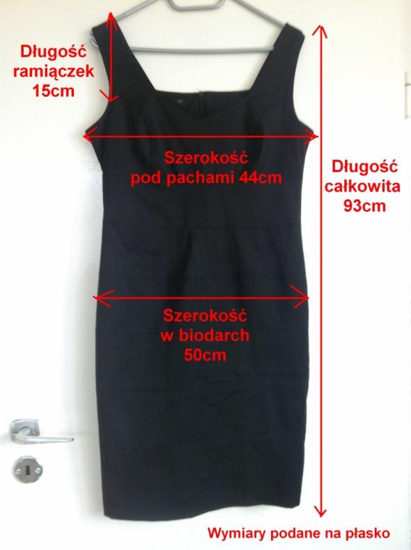 Suknie i sukienki Czarna mała mini klasyka M L długa wąska elegancka