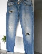 Pimkie jeansy boyfriend klasyka jeans dziury...