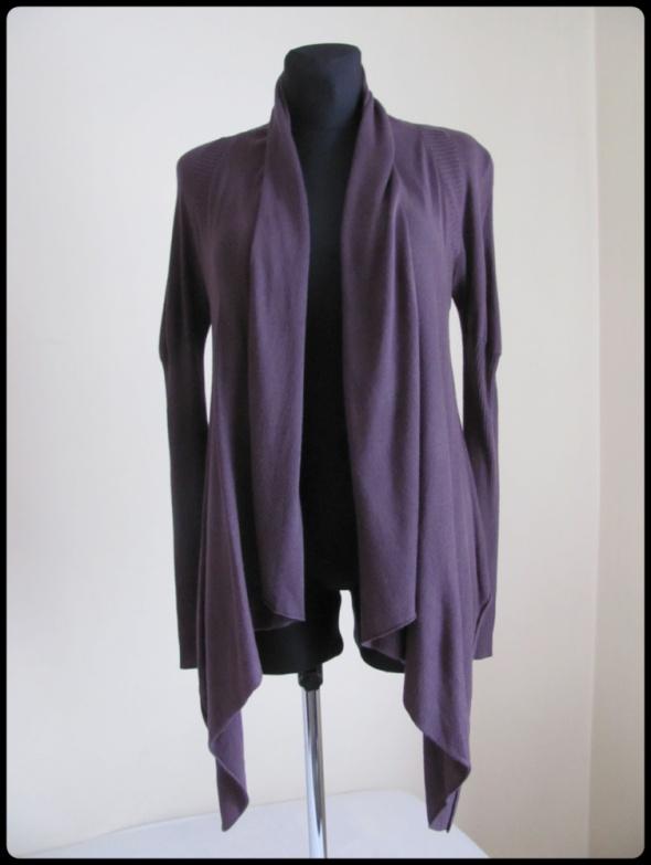 Śliwkowa narzutka sweter Vero Moda rozmiar 36...