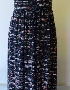Sukienka Long Maxi Wzory Dekolt S 36 Lindex...