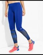 Legginsy Adidas TF TIG LT PR1 niebieskie rozm S