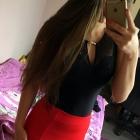 Czerwona mini spódniczka CROPP S