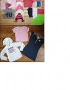 Zestaw ubrań dla dziewczynki w wieku 4 6 lat rozmiar 104 116 34...