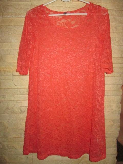 Koronkowa H&M bluzka tunika sukienka rozmiar 34